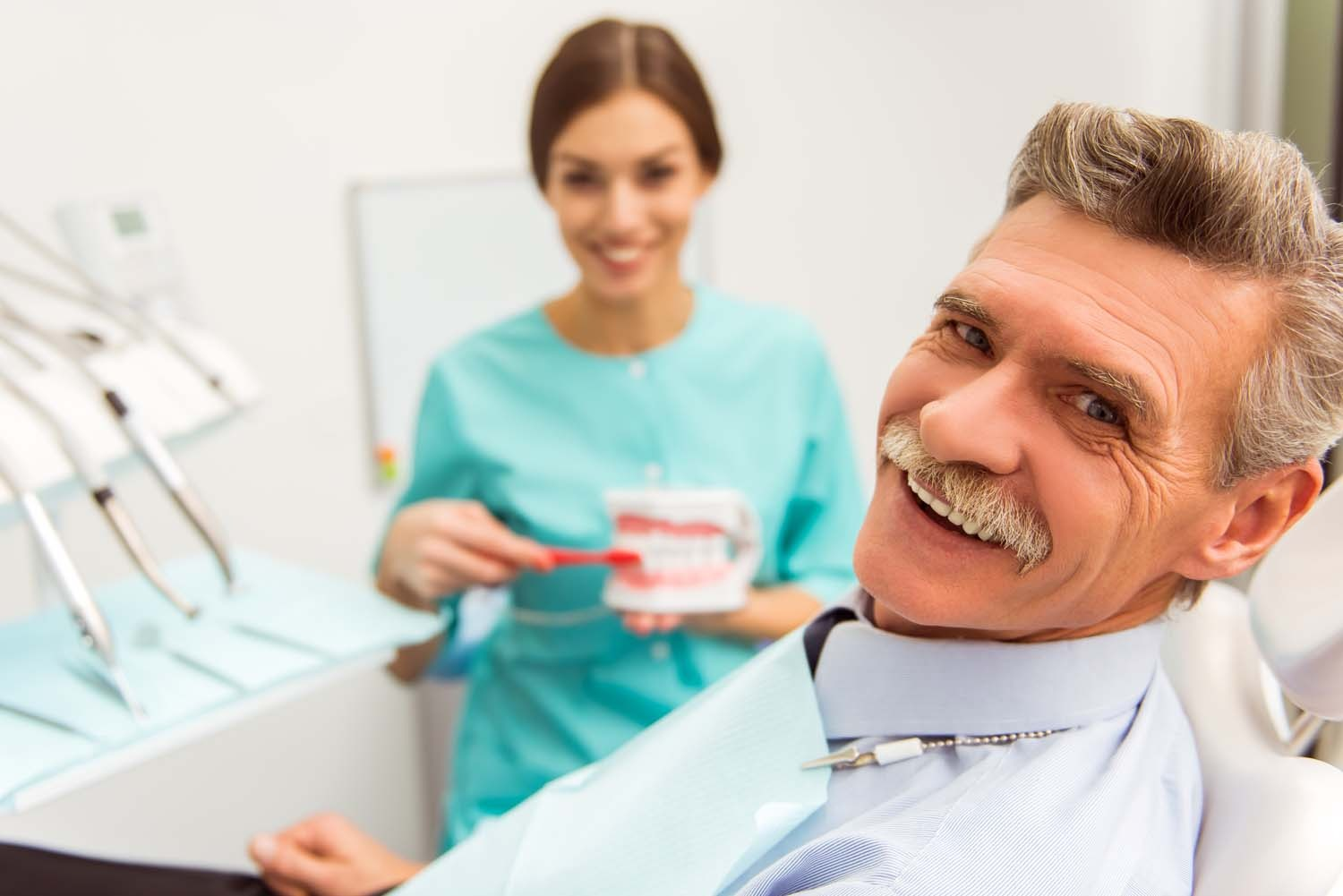 denture office appointment